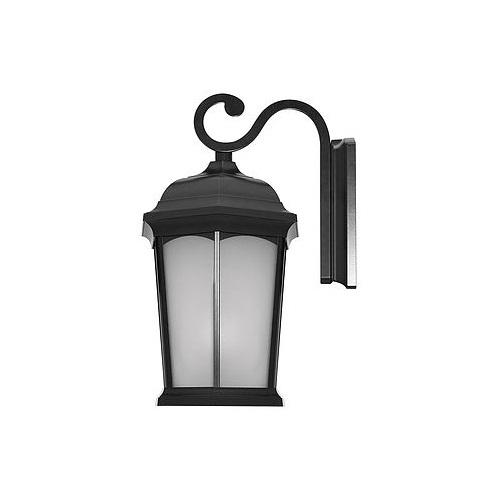 12.5W LED Wall Lantern, 1200 lm, 3000K, Black
