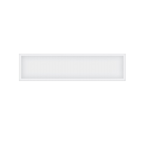 40W 1x4 LED Panel, Dimmable, 100V-277V, 5000 lm, 4000K