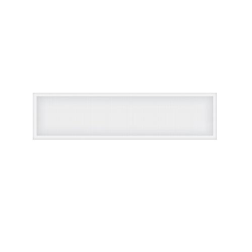 40W 1x4 LED Panel, Dimmable, 100V-277V, 5000 lm, 5000K