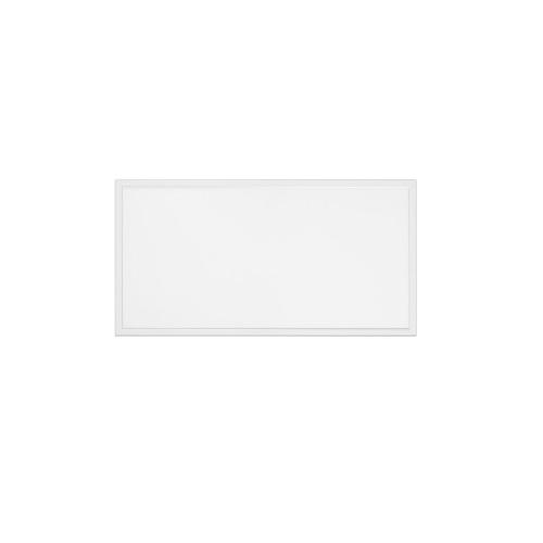 50W 2x4 LED Flat Panel w/ Backup, Dimmable, 5000 lm, 100V-277V, 4000K