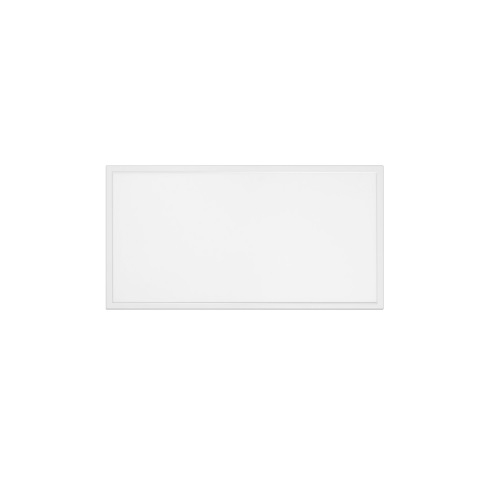 50W 2x4 LED Flat Panel, Dimmable, 6250 lm, 100V-277V, 5000K