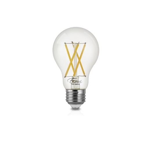 Euri Lighting 7w Led A19 Filament Bulb Dimmable E26 800 Lm 120v 2700k Euri Lighting Va19 3020e Homelectrical Com