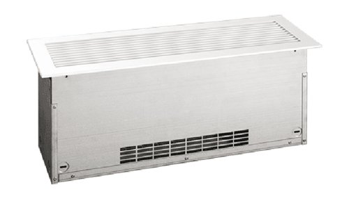 600W Convection Floor Insert Heater, Medium Density, 120 V, Silver