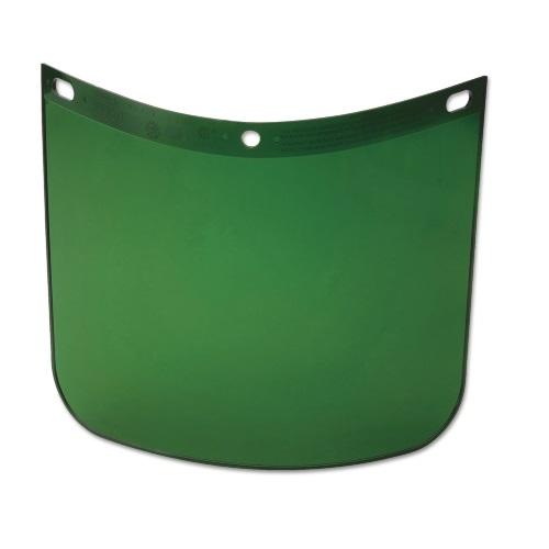 """8"""" x 11-1/4"""" High Performance Facesheild Window, Dark Green"""