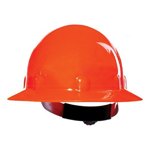 Strong Orange Thermoplastic SuperEight Hard Hats