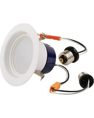 9W LED Retrofit Downlight, 4-Inch Diameter, 650 Lumens, 3000K