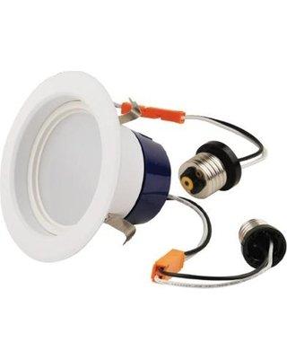 9W LED Retrofit Downlight, 4-Inch Diameter, 650 Lumens, 3000K