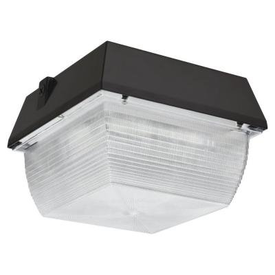 60 Watt Bronze LED Canopy Ceiling Mount Light, 4000K