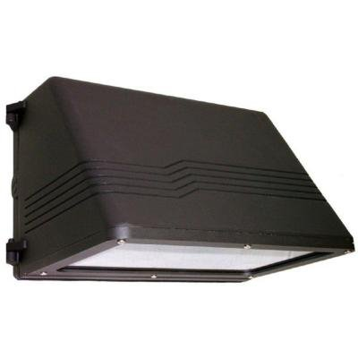 60 Watt Bronze Cutoff LED Wall Pack, 5000K