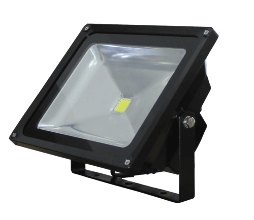 28 Watt Black LED Floodlight, 4000K