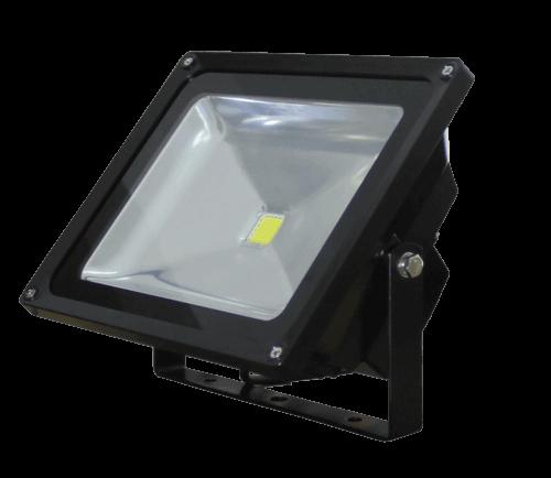 28 Watt Black LED Floodlight, 5000K