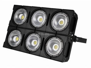240 Watt LED High Power Floodlight Fixture with 60 Degree Beam Angle, 5000K