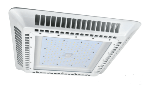 150 Watt White LED Gas Station Canopy Light, 5000K