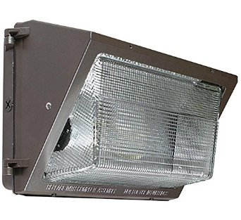 28 Watt Bronze Traditional LED Wall Pack, 5000K