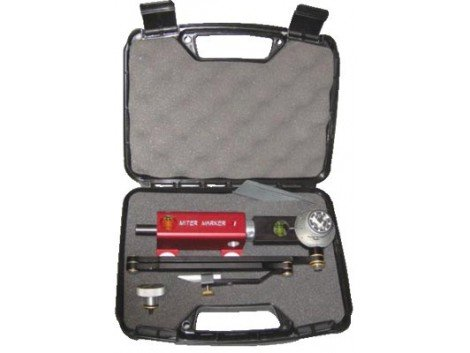 Magnetic Miter Marker with Off/On Base in Carrying Case