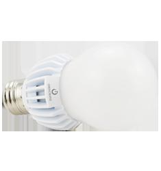 12W A19 Dimmable LED Bulb, 2700K, 330 Deg Beam Angle