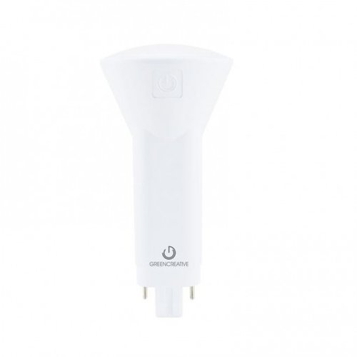 4000K 6W Vertical LED Plug and Play PL Bulb Dimmable