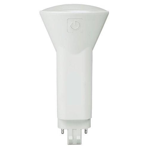 6.5W2-Pin LED PL Lamp, GX23 Base, Bypass, 3500K