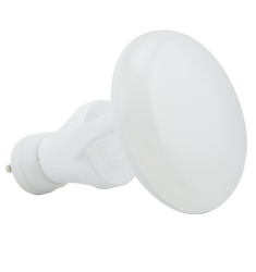11W Titanium LED BR Bulb, GU24 Adapter, 2700K, CLOUD Design, White