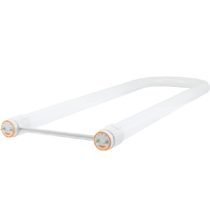 16W 2 ft. DIRect Ballast U-bent Tube LED Bulb, 3000K, 160 Deg Wide Beam Angle