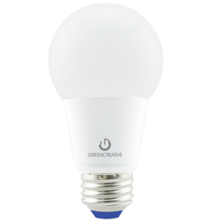 6.5W A19 Dimmable LED Bulb, 3000K, 300 Deg Beam Angle