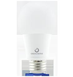 9W A19 Dimmable LED Bulb, 3000K, 300 Deg Beam Angle