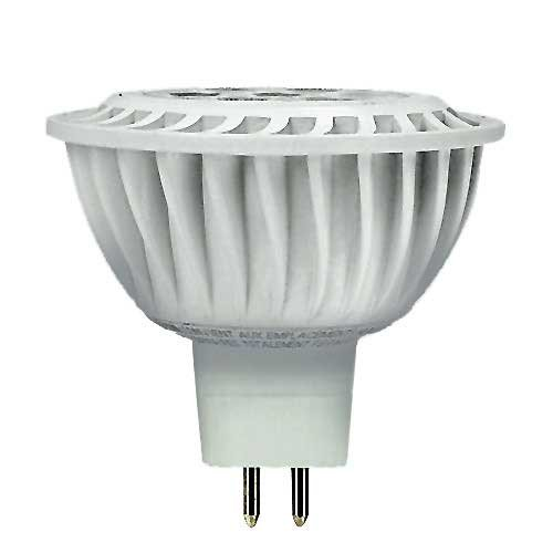7W MR16 LED Bulb, 2700K, Dimmable with 25 Deg  Beam Angle