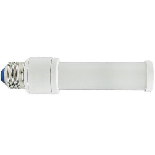 3500K, 6W LED Hybrid PL Bulb with E26 Base, 550 Lumens
