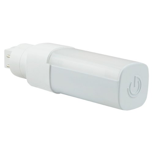 3000K, 6W LED Direct Wire PL Bulb with GU24 Base, 550 Lumens