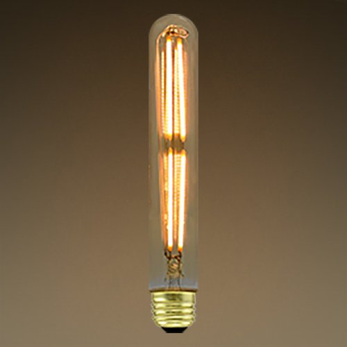 3.5W Clear T10 LED Filament Bulb, Dimmable, 2200K
