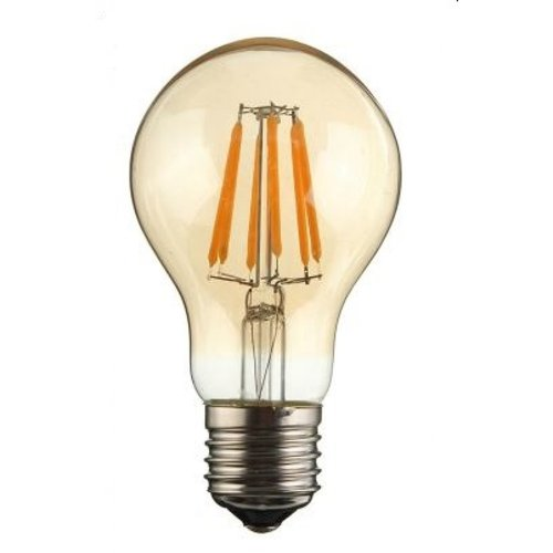 2400K 4.5W A19 Filament Dimmer Amber LED Bulb