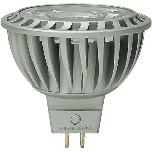 15 Degree, 3000K, 8.5W MR16 LED Bulb, Dimmable, 580 Lumens