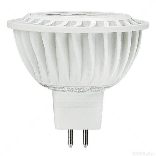 3000K, 6W MR16 LED Bulb, Dimmable, 500 Lumens, 12V