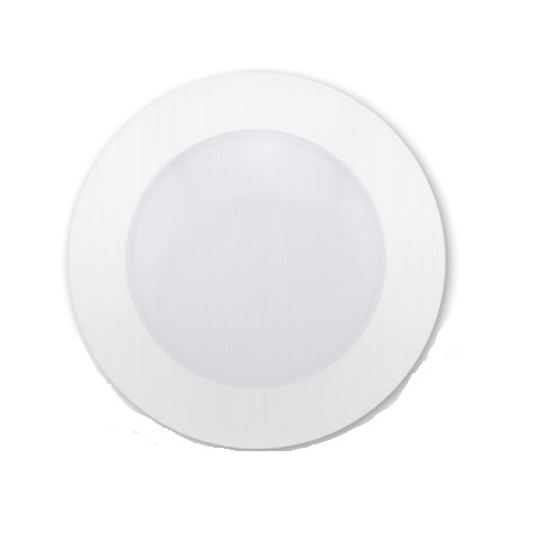 "11W 4"" Round LED Downlight, Dimmable, 2700K, White"