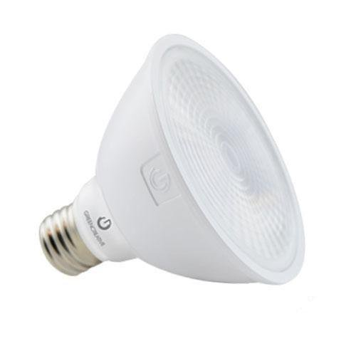 Green Creative 13W LED PAR30 Bulb, Dimmable, Spot, 880 lm, 3000K, Short Neck