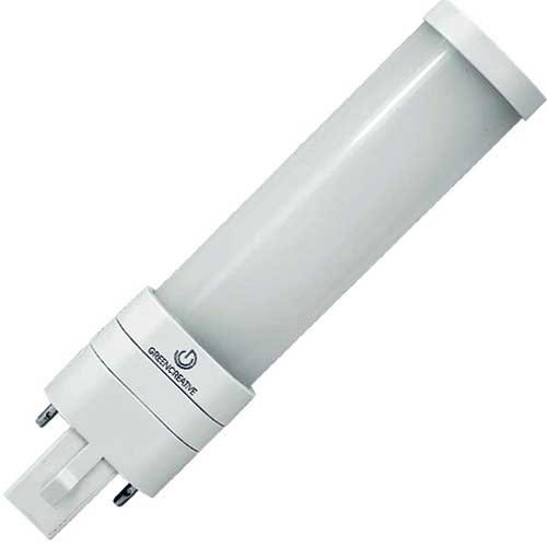11.5W 4 Foot T8 LED Tube, Ballast Compatible, Double-Ended, Frosted, 4000K