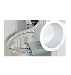 48W 9.5'' Retrofit Commercial Downlight, Universal Voltage, 3000K, White