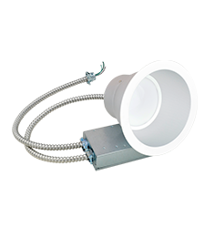 48W 9.5'' Retrofit Commercial Downlight, Universal Voltage, 4000K, White