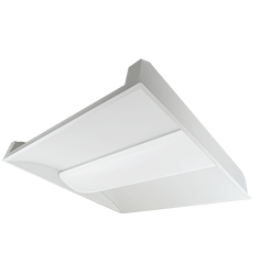 32W ELEVATE Series 2X2' Recessed Lay-In Troffer, 3500K, White