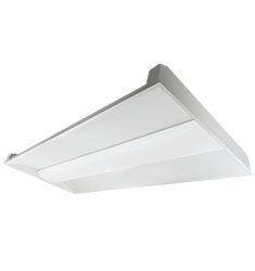 40W ELEVATE Series 2X4' Recessed Lay-In Troffer, 3500K, White
