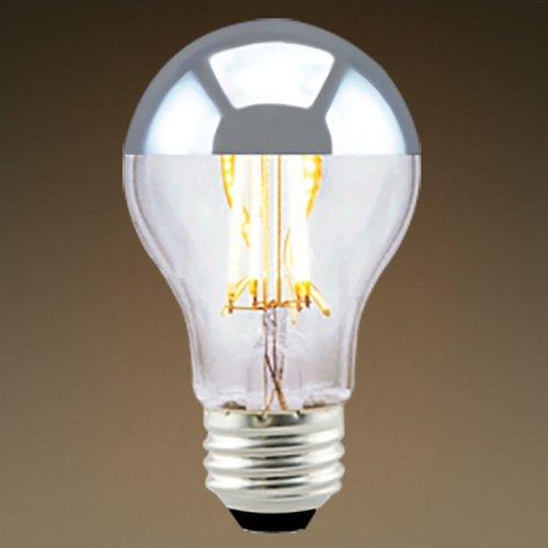 Green Creative 7w Silver Bowl A19 Led Filament Bulb