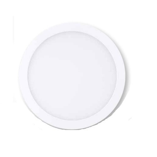 15W 7 inch LED Round Downlight, 3000K, Dimmable