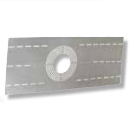 Construction Plate for Stud/Joist Mounting with Circular Knockouts