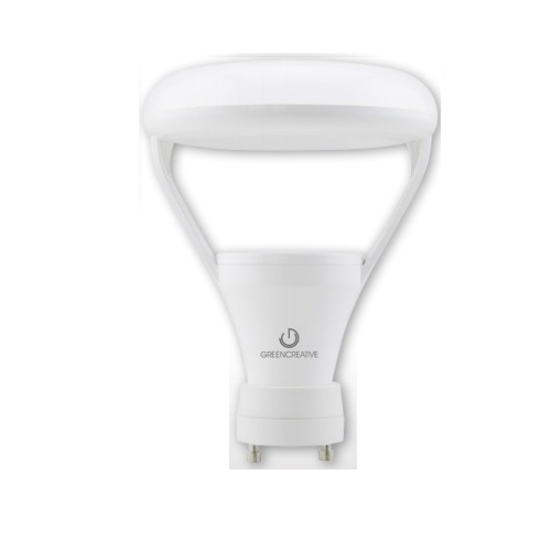 9.5W LED BR30 Bulb w/ GU24 Base, Dimmable, 2700K