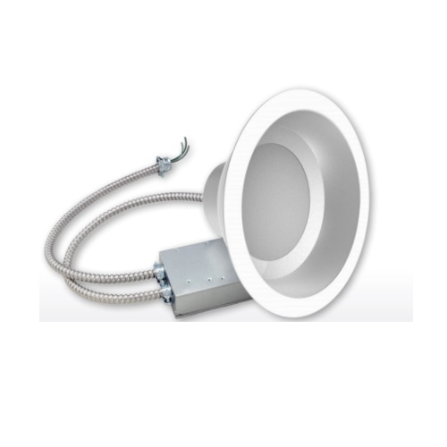 """24W 8"""" LED Commercial Downlight, Dimmable, 4000K"""