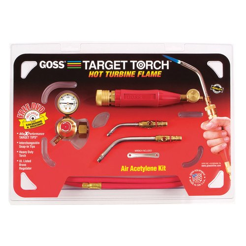 goss kx 3b brazing soldering target air acetylene torch outfit. Black Bedroom Furniture Sets. Home Design Ideas