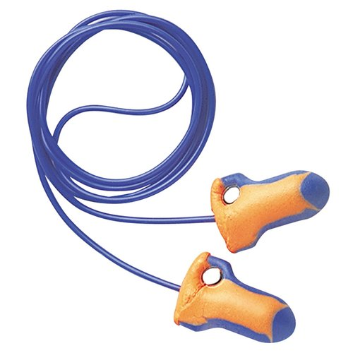 32 dB Foam Orange/Blue Laser Trak Detectable Earplugs