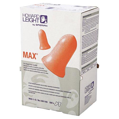Green Foam Uncorded Max Lite Disposable Earplugs