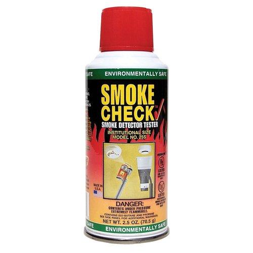 2 1/2 oz Aerosol Can Smoke Check Smoke Detectors