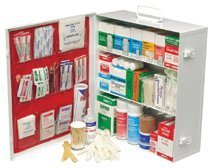 Medium Industrial 180 First Aid Cabinets, Metal